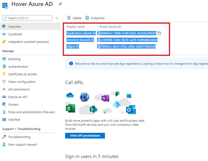 Register WebApp in Azure AD portal Step 3